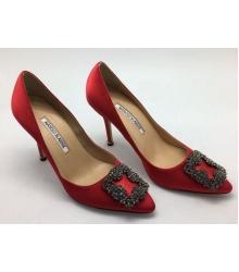 Туфли женские Manolo Blahnik (Маноло Бланко) Red