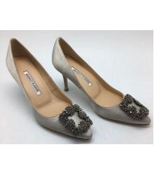 Туфли женские Manolo Blahnik (Маноло Бланко) Silver
