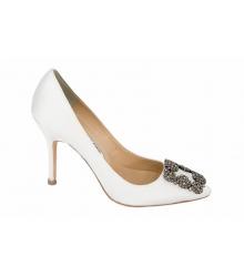 Туфли женские Manolo Blahnik (Маноло Бланко) White