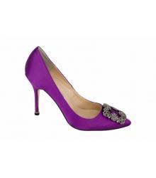 Туфли женские Manolo Blahnik (Маноло Бланко) Purple