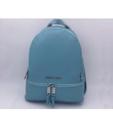 Женский рюкзак Michael Kors (Майкл Корс) Rhea Blue/Silver