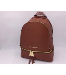 Женский рюкзак Michael Kors (Майкл Корс) Rhea Brown