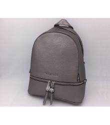 Женский рюкзак Michael Kors (Майкл Корс) Rhea Dark Grey/Silver