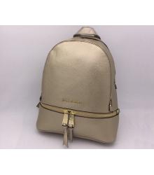 Женский рюкзак Michael Kors (Майкл Корс) Rhea Gold