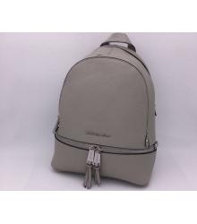 Женский рюкзак Michael Kors (Майкл Корс) Rhea Grey/Silver
