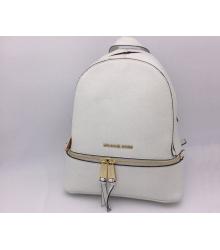 Женский рюкзак Michael Kors (Майкл Корс) Rhea White