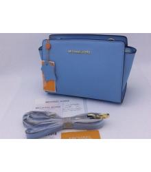 Женская сумка Michael Kors (Майкл Корс) Selma Small Blue