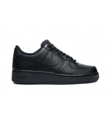 Кроссовки Nike Air Force 1 (Найк Аир Форс) Low Black