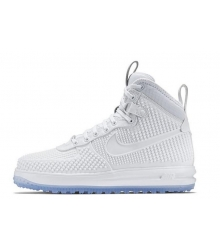 Кроссовки мужские Nike Air Force 1 Lunar Duckboot White