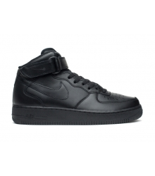 Кроссовки Nike Air Force 1 Mid '07 (Найк Аир Форс) Black