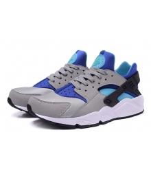Кроссовки женские Nike (Найк) Air Huarache (Хуарачи) Grey/Blue/Green