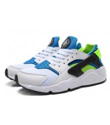Кроссовки Nike Air Huarache White/Blue/Green