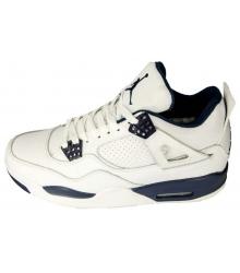 Баскетбольные кроссовки Nike Air Jordan 4 New White