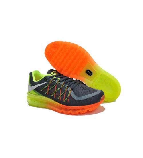 Кроссовки Nike Air Max 2015 Grey/Red/Yellow