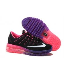 Кроссовки женские Nike Air Max 2016 (Найк Аир Макс) Black\Pink