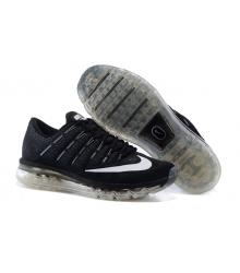 Кроссовки мужские Nike Air Max 2016 (Найк Аир Макс) Black\White