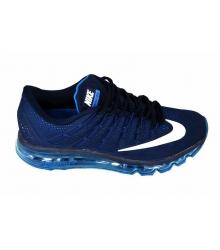 Кроссовки мужские Nike Air Max 2016 (Найк Аир Макс) Full Blue