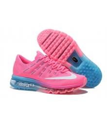 Кроссовки женские Nike Air Max 2016 (Найк Аир Макс) Pink/Blue