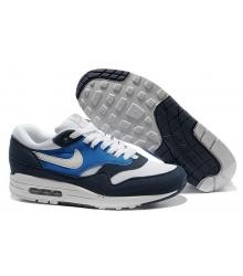 Кроссовки Air Max 87 Nike (Найк Аир Макс 87) Blue/White/Sky
