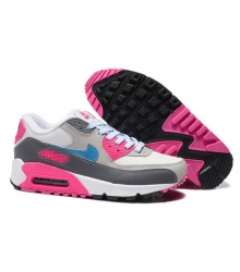 Кроссовки Nike Air Max 90 Grey/Pink/White