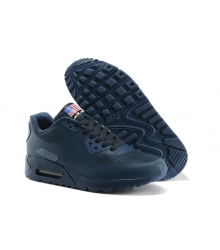 Кроссовки Nike Air Max 90 Hyperfuse Dark/Blue