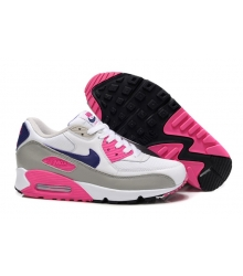Кроссовки Nike Air Max 90 White/Blue/Pink
