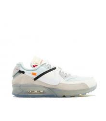 Кроссовки мужские Nike Off-White Air Max 90 (Найк Аир Макс) White