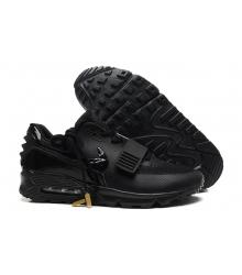 Кроссовки Nike Air Max 90 Yeezy 2 (Найк Аир Изи) Black
