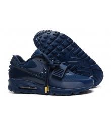 Кроссовки Nike Air Max 90 Yeezy 2 (Найк Аир Изи) Blue