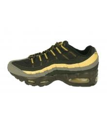 Кроссовки мужские Nike Air Max 95 (Найк Аир Макс) Black/Gold