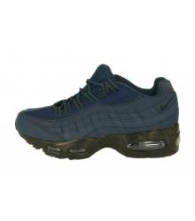 Кроссовки мужские Nike Air Max 95 (Найк Аир Макс) Dark Blue