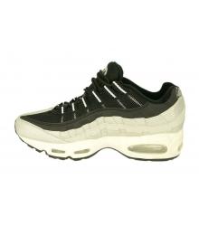Кроссовки мужские Nike Air Max 95 (Найк Аир Макс) White/Black