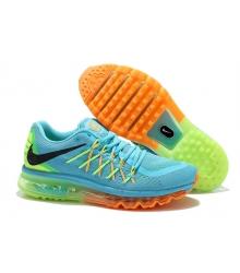 Кроссовки Nike Air Max 2015 Blue/Yellow/Orange