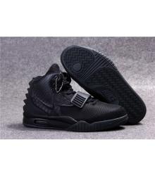 Кроссовки Nike Air Yeezy 2 (Найк Аир Изи) Black