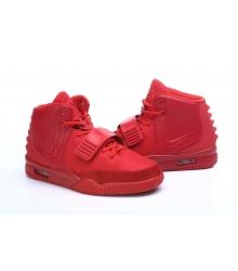 Кроссовки Nike Air Yeezy 2 (Найк Аир Изи) Red