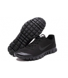 Кроссовки Nike Free Run 3.0 Full Black
