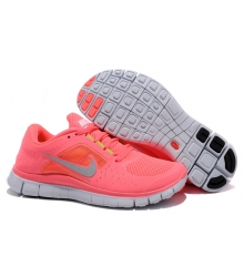 Кроссовки Nike Free Run 5.0 Hot Punch Reflective Silver