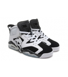 "Кроссовки Nike Air Jordan 6 VI Retro ""Oreo"" (White/Black)"