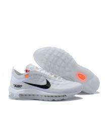 Кроссовки мужские Nike Off-White Air Max 97 (Найк Аир Макс) White