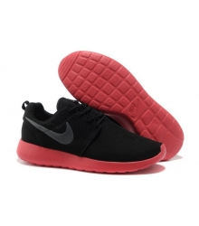 Кроссовки Nike Roshe Run (Black/Red)