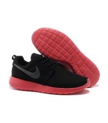 Кроссовки Nike Roshe Run (Black/Red)