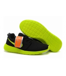 Кроссовки Nike Roshe Run Black/Green