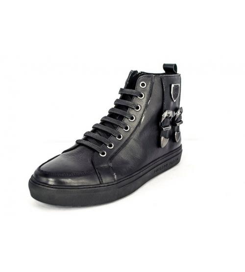 Ботинки осенние Philipp Plein (Филипп Плейн) New Black