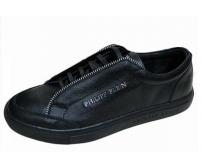 Мужские ботинки Philipp Plein (Филипп Плейн) брендовые Black