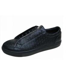 Мужские ботинки Philipp Plein (Филипп Плейн) кожаные Black