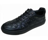 Мужские ботинки Philipp Plein (Филипп Плейн) Low Black