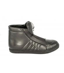 Ботинки осенние Philipp Plein (Филипп Плейн) High Black