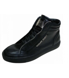 Мужские ботинки Philipp Plein (Филипп Плейн) High Black