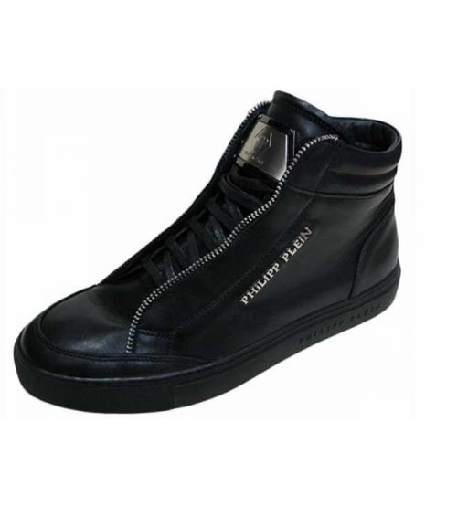 aa56da2d5919f Мужские ботинки Philipp Plein (Филипп Плейн) High Black - 14 550 руб ...