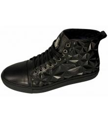 Ботинки зимние Philipp Plein (Филипп Плейн) High Star Black